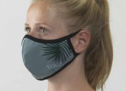 presonalised reusable mask with logo and design